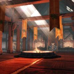 Wnętrze – sala tronowa