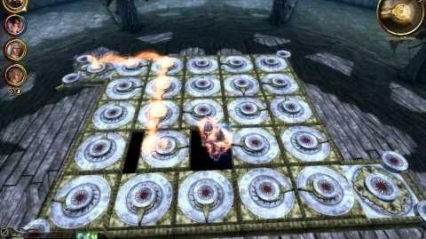 Dragon Age Origins Honnleath Puzzle solution HD The Stone Prisoner