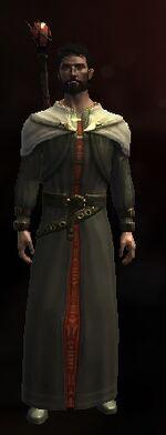 Пушистое шерстяное одеяние