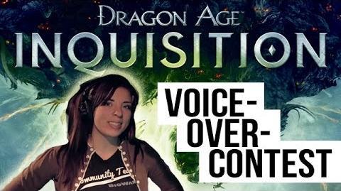 Dragon Age Inquisition - Voice Over Contest Tutorial
