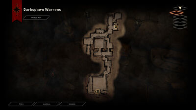 DAI The Descent DSWarrens Map
