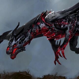 The Red Lyrium Dragon in Heroes of Dragon Age