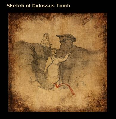 Sketch of Colossus Tomb
