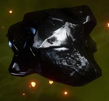 Fertige Obsidian-Studie