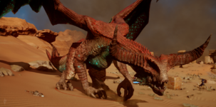 Глубинная высшая драконица3