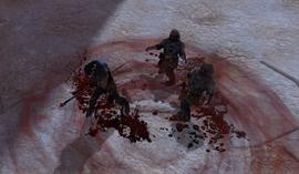 Демонстрация умения Кровотечение DAII