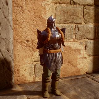 Soldat der Inquisition in schwerer Rüstung