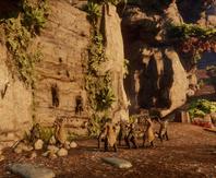 Verbündete unter den Avvar - Der Kletterwettkampf