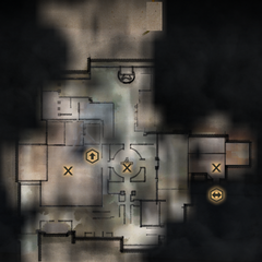 Winter Palace Servants Quarters and Grand Apartments Main Level Map