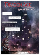 Dragon Age Awakening comic