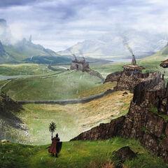 Fereldische Landschaft