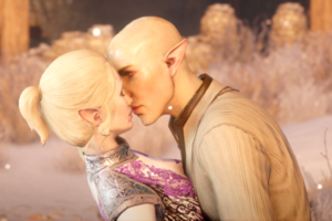 Solas and lavellan