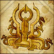 Magier-Thron