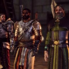 Duncan, Greagoir and First Enchanter Irving