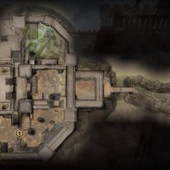 Mapa: dolny poziom