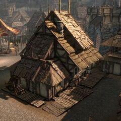 Ein Gebäude in Denerim