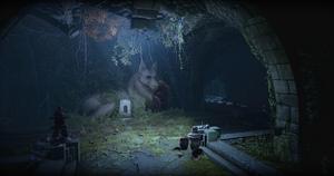 Vergessener Dirthamen-Tempel