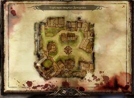 Карта торгового квартала