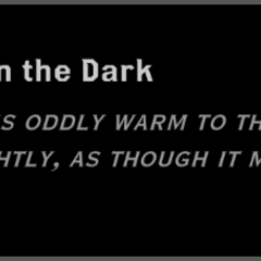 The Thing in the Dark