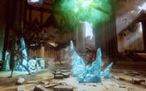 Ein seltsamer Riss in den Ruinen - Der Beginn