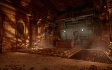 Gefangenes Feuer - erste Kammer