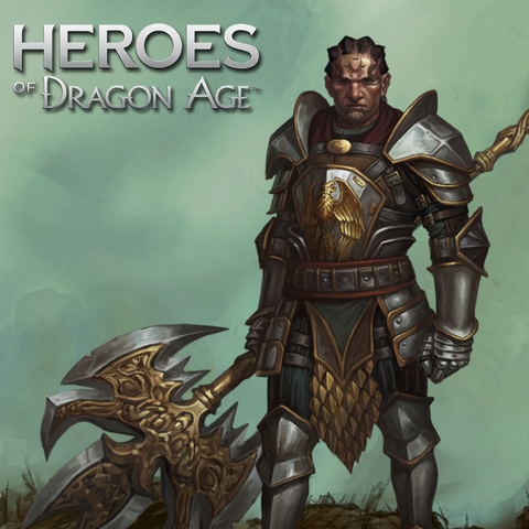 Cahir in <i>Heroes of Dragon Age</i>