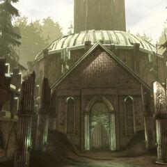 Die Ruinen im Wald