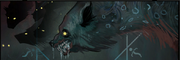 Trouble with Wolves Banner