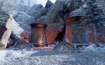 Die winzigste Höhle - Eingang Emprise