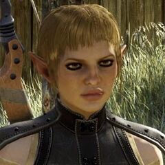 Sera's Profil auf der offiziellen Dragon Age: Inquisition Website