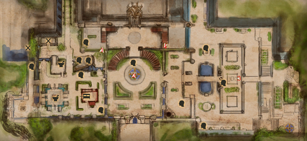 Halla Treasure Hunt Map