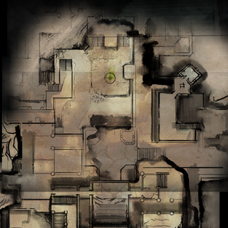 Adamant Fortress Lower Level Map