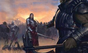 Сражение с порождениями тьмы DARPG