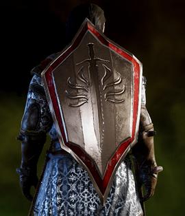 Храмовничий командирский щит