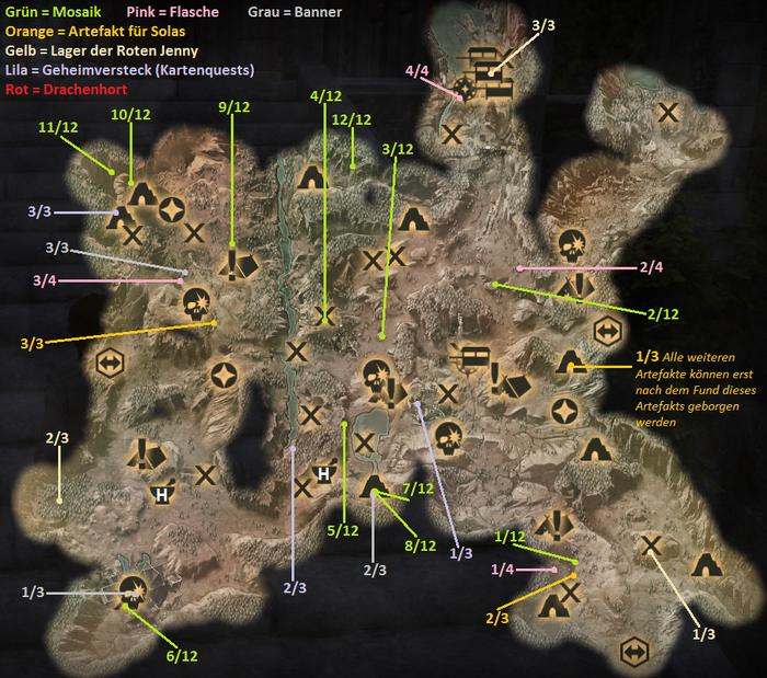 Die Hinterlande - Karte