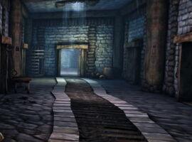 Замок Редклиф, подвал