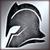Тяжелый шлем (серебряный)
