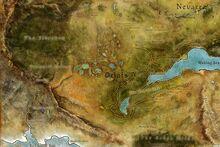 Mapa de Orlais