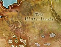 Западные холмы карта