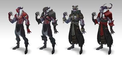 Воины Кунари (Dragon Age II)