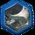 Тронутый тенью лазурит (иконка)