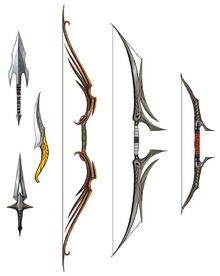 Dalish weapons