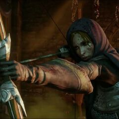 Leliana readying her bow in the Dragon Age: Inquisition E3 demo