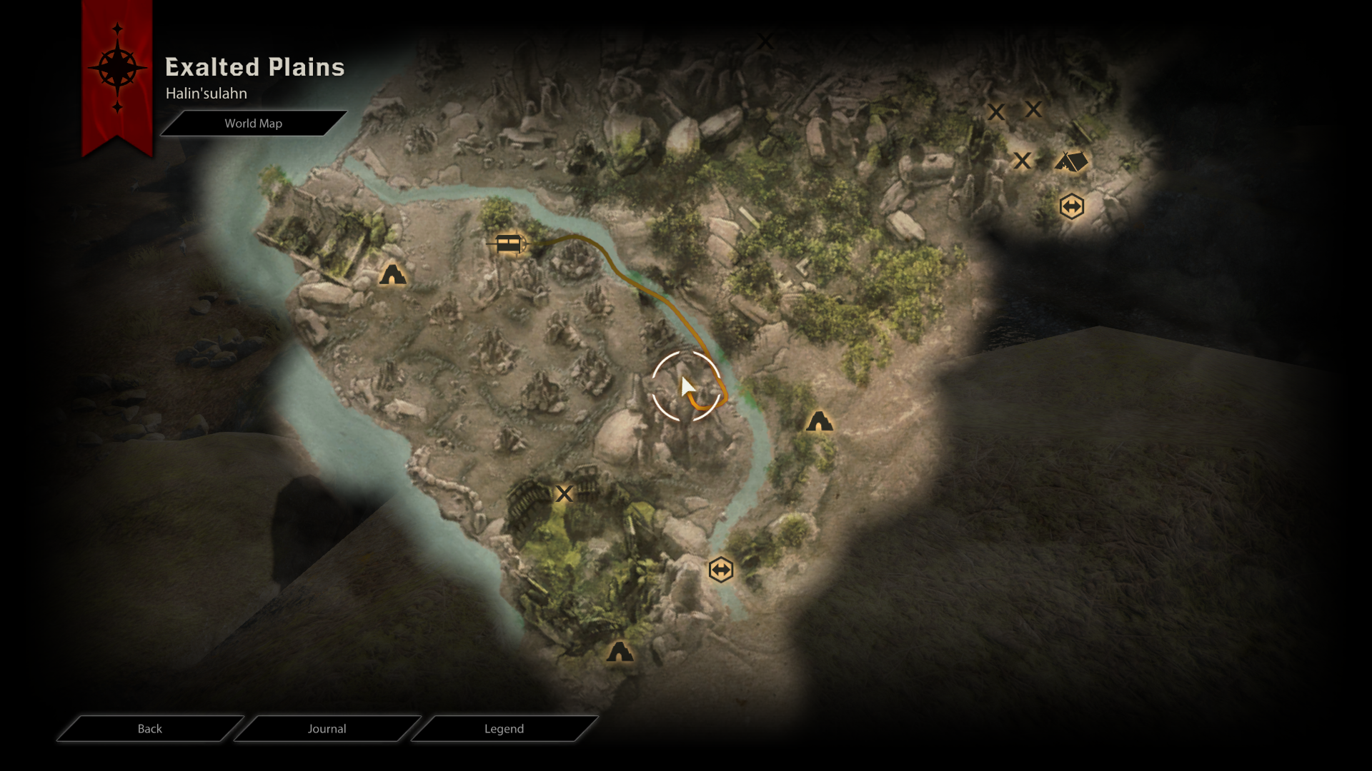 Map of halin sulahn walkthroughpng Image