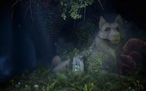 Runen im Vergessenen Tempel - Erste Glyphe
