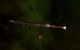 Гномий длинный меч (Эскиз)