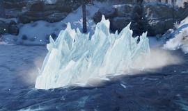 Демонстрация умения Ледяная стена (Inquisition)