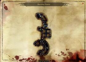 Map-Burning Tower