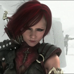 Leliana hunting darkspawn in the <i>Sacred Ashes</i> trailer