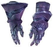 Тяжелые латные перчатки